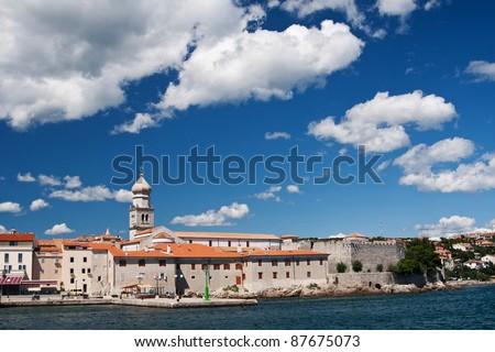 the city Krk - Croatia