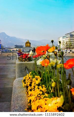 the city landmark of seoul #1115892602