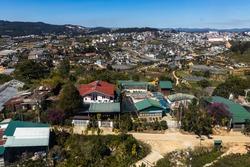 The City of Dalat in Vietnam