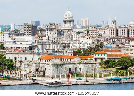 the city of havana including...