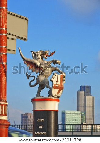 the city of london dragon