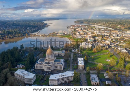 Photo of  The City of Olympia in Washington State