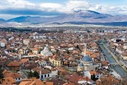The city of Prizren, Kosovo