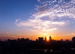The city of sunrise