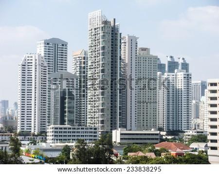 The City view of Bangkok, Thailand  #233838295