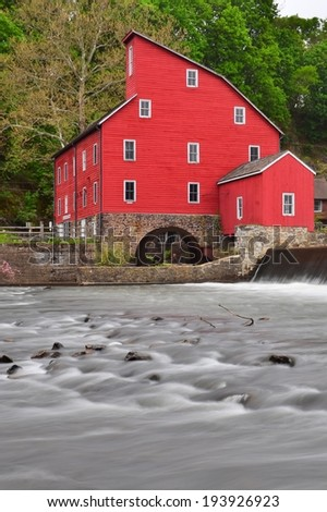 The Clinton Mill in beautiful Clinton, New Jersey in the USA.