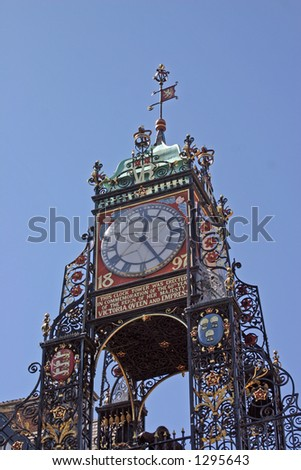 The Clock in Chester England