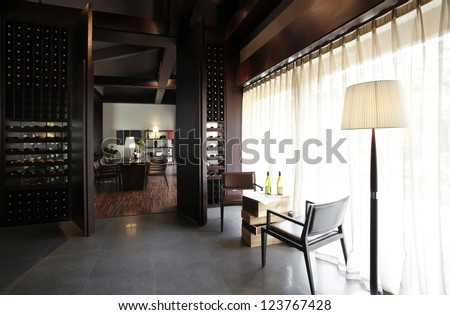 The clubhouse - stock photo