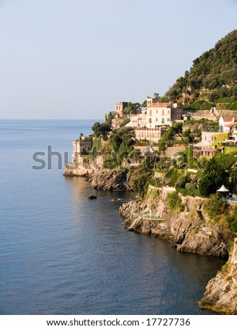 the coast of Amalfi in contrada Marmorata at Ravello