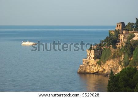 the coast of Amalfi Ravello contrada Marmorata