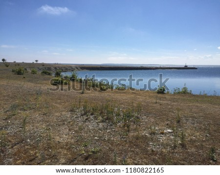 The coast of Gotland #1180822165