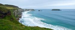 The coast of Northern Ireland