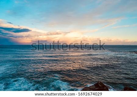 The coast of Wollongong NSW Australia
