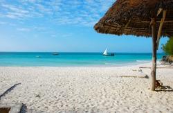 the coast of Zanzibar, Africa