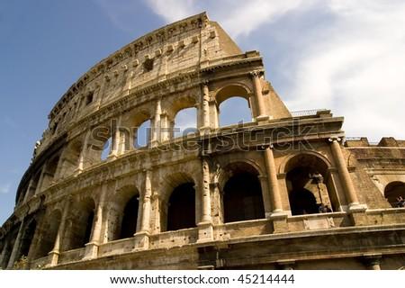 The Coliseum Rome Italy.
