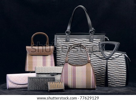 The collection of bamboo handbag for your choice