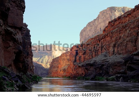 The Colorado River in the Grand Canyon #44695597
