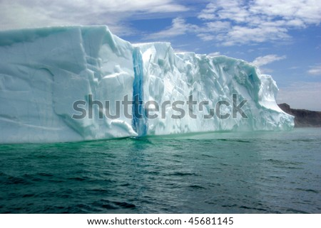 The Colors of an Iceberg