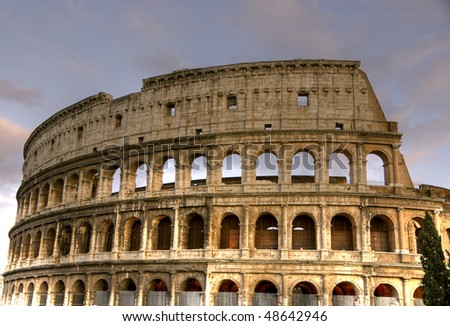 The Colosseum HDR