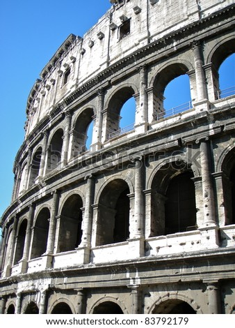 The Colosseum, or the Coliseum
