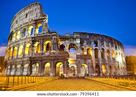 The Colosseum - Rome - Italy
