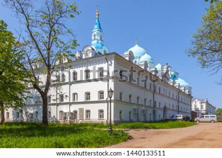 The complex of buildings of the Spaso-Preobrazhensky Valaam Monastery. Valaam Island #1440133511