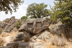 the Complex of Santo Stefano an enigmatic pre-Nuragic site, Rock Altar of Santo Stefano Oschiri, Sardinia, Gallura, Italy