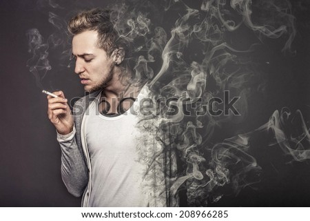 The concept smoking kills