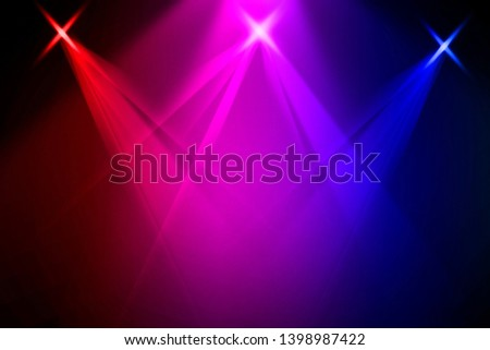 The concert on stage background with flood lights   #1398987422