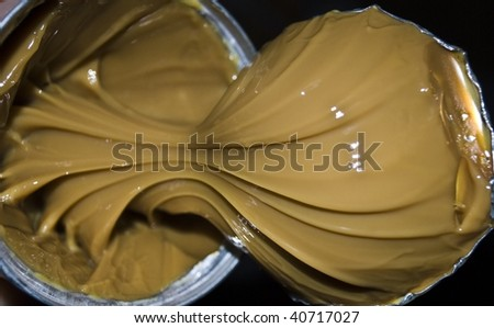 the condensed milk in bank