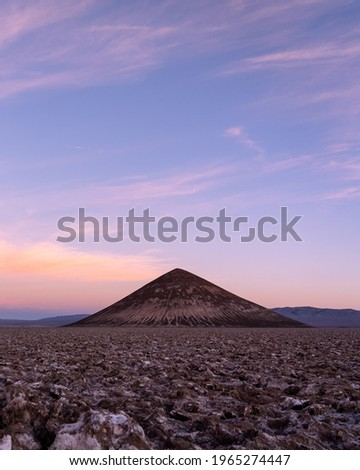 The Cono de Arita is an incredible volcanic formation that resembles a pyramid. It is located in Salta, northern Argentine province. Stock fotó ©