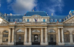 The Conseil d Etat (Council of State) , Paris, France.