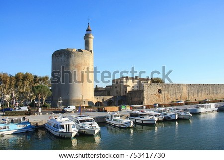 The Constance Tower in Aigues mortes, Camargue, France