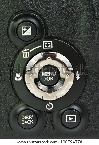 The control panel camera. Photo Close-up
