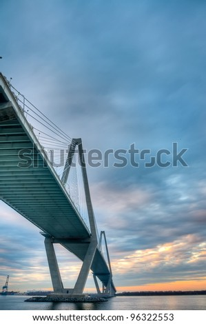 The Cooper River Bridge - Charleston, South Carolina