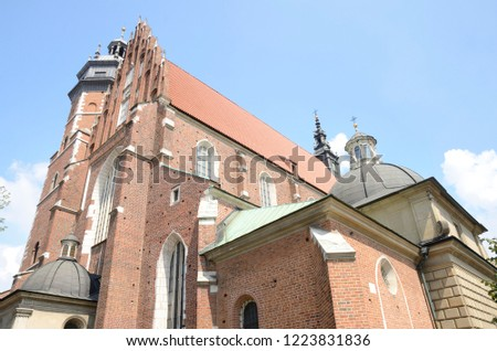 The Corpus Christi Basilica  in the Kazimierz district of Krakow, Poland. #1223831836