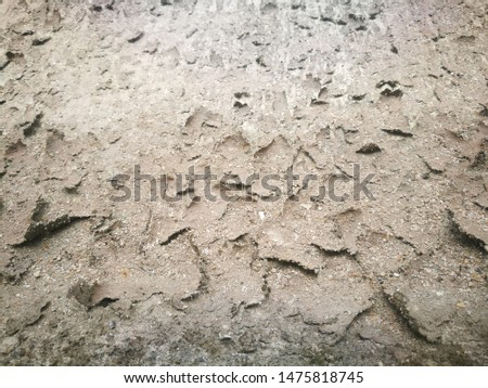 The cracked ground, Ground in drought, Soil texture and dry mud, Dry land. #1475818745
