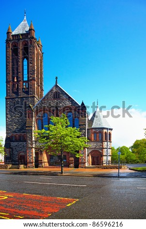 The Crescent Presbyterian Church  in Belfast, Northern Ireland