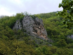 The Cris Canyon, in the Apuseni Mountains, on the Fast Cris river