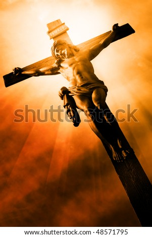 The Crucifixion The Jesus on the cross