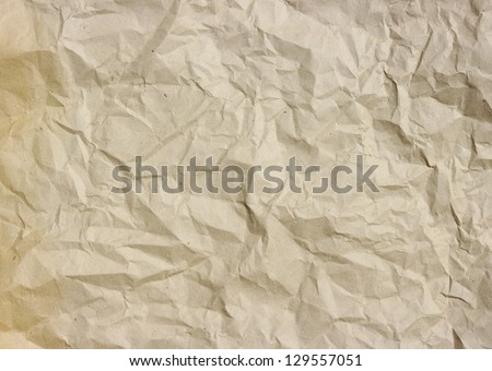 the crushed grunge paper background