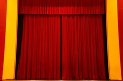 the curtain remains closed, the show does not start