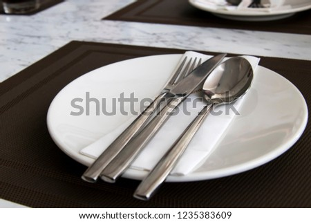 the cutlery set #1235383609