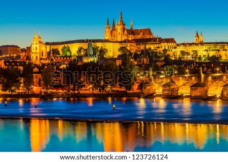 "The Czech Capital Prague is often called ""the Golden City""."