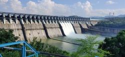 The dam on the holy Narmada River, SARDAR SAROVAR DAM. This huge dam serves as power generator for mainly 3 Indian states i.e GUJARAT, MADHYA PRADESH, MAHARASHTRA.