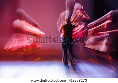 The dance movement #762259273