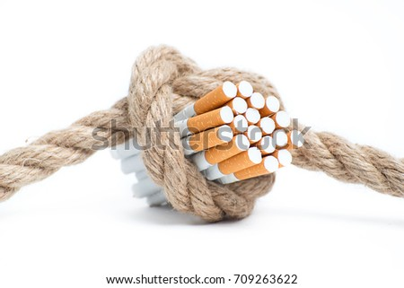 the dangers of smoking....