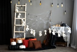 The dark picture of halloween