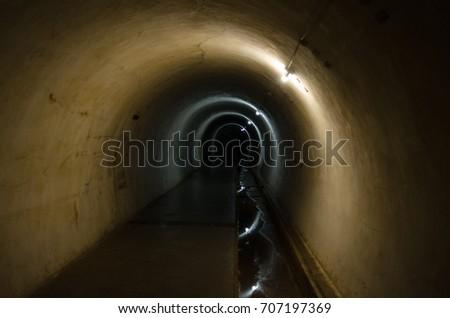 The dark tunnel #707197369