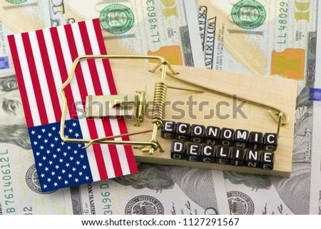 The decline of the US economy